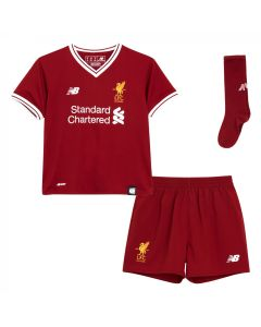 NB Liverpool Home Toddler Mini Kit 2017/18 - Red