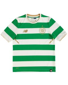 NB Celtic Home Jersey Youth 2017/18 - White/Green