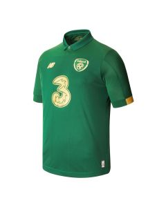 NB FA Ireland Home Youth Soccer Jersey 2019 - Green