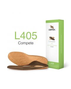 Aetrex Complete Orthotics Med/High Arches Metatarsal Pad Men Insoles