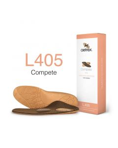 Aetrex Complete Orthotics Med/High Arches Metatarsal Pad Women Insoles