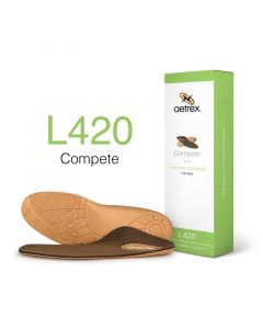 Aetrex Complete Orthotics Flat/Low Arches Men Insoles