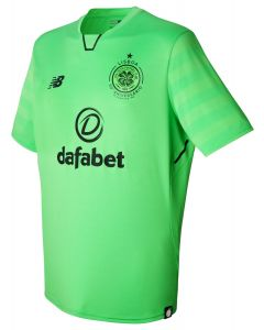 NB Celtic Third Jersey 2017/18 - Lime Green