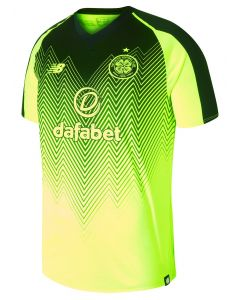 NB Celtic FC 3rd Jersey 2018/19 - Neon Yellow/Black