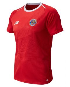 New Balance Costa Rica Home Jersey Mens 2018 - Red - World Cup 2018