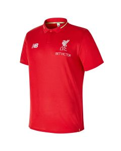 New Balance Liverpool Leisure Essential Polo - Red