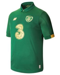 NB FA Ireland Home Mens Soccer Jersey 2019/20 - Green Gold