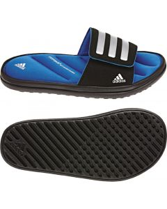 adidas Zeitfrei Slide Kids - Black/Prime Blue