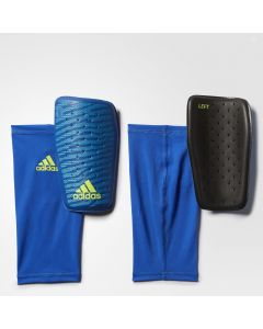 adidas X ClimaCool Shinguard - Royal/Yellow