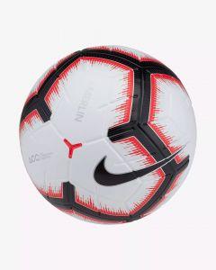 Nike Merlin Match Ball-White Bright Crimson Black