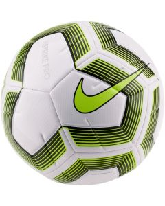 Nike Strike Pro Team Ball - White/Black / Volt