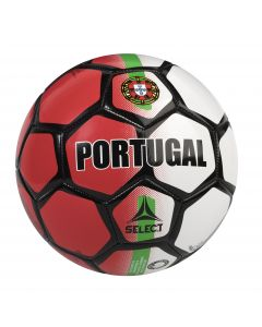Select Portugal Soccer Ball - Red/White/Green