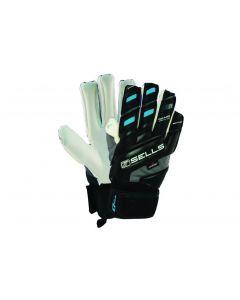 Sells GK Glove Silhouette Aqua - Black/White