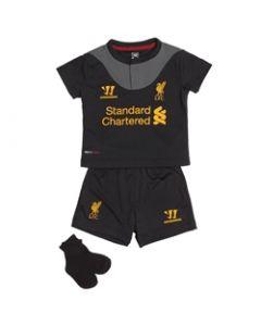 Warrior Liverpool Away Baby Set - Black/Red