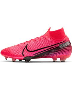 Nike Mercurial Superfly 7 Elite Firm Ground Soccer Cleats Mens - Laser Crimson - Future Lab PT1