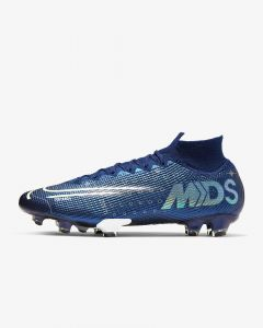 Nike Mercurial Superfly 7 Elite MDS Firm Ground Soccer Cleats - Blue - Dream Speed