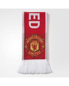 adidas Manchester United Scarf 2017/18 - Red
