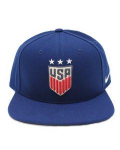 Nike USA Womens three stars Pro Cap - Blue