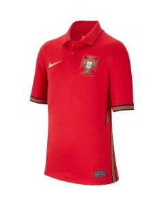 Nike Portugal Youth Home Jersey - Red