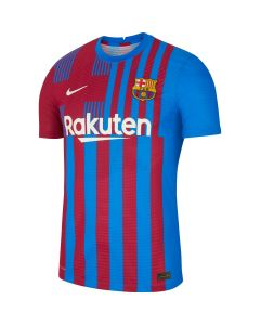 Nike Barcelona Authentic Home Jersey - Blue