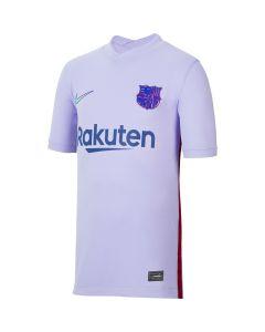 Nike Barcelona Youth Away Jersey 2021 - Purple