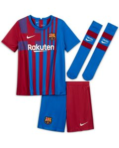 Nike Barcelona Home Mini Kit Youth - Blue