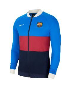 Nike Barcelona Football Jacket - Blue