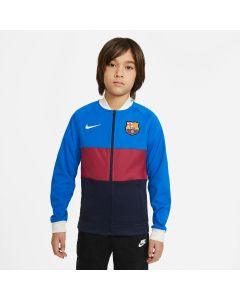 Nike Barcelona Youth Jacket - Blue