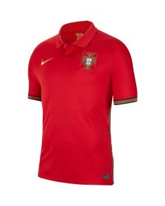 Nike Portugal Mens Home Jersey 2020 - Gym Red