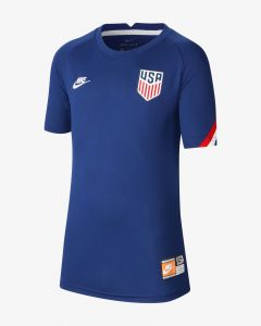Nike United States Prematch Youth Jersey- Navy