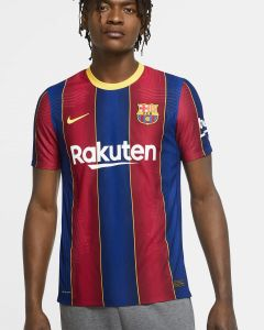 NIKE Barcelona Mens Authentic Home Jersey 2020/21-Royal