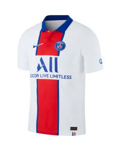 Nike PSG Authentic Away Mens Jersey 2020/21- White