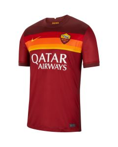 Nike A.S. Roma Mens Home Jersey 2020/21 - Red/Gold