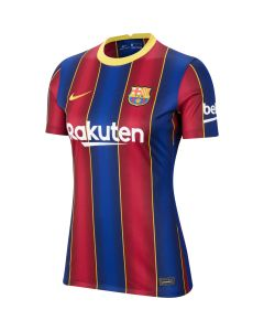 Nike FC Barcelona Home Jersey Womens 2020/21 - Navy