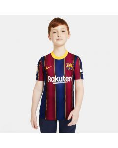 Nike FC Barcelona Youth Home Jersey 2020/21 - NAVY