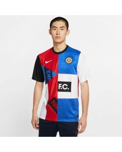 Nike F.C. Men's Home Jersey - Royal-Red-Black