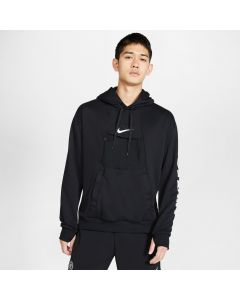 Nike F.C. Men's Pullover Fleece Hoodie- Black