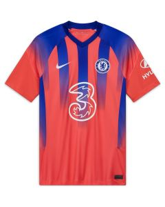 Nike Chelsea FC Mens 3rd Jersey 2020/21 -Red Royal