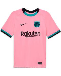 Nike Barcelona Youth Big Kid's Third Jersey 2020/21-Pink