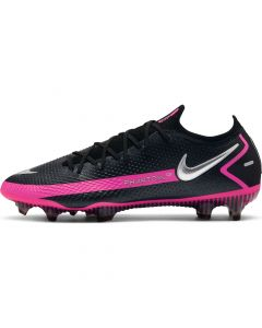 Nike Phantom GT Elite Men's Firm Ground cleats- Black Pink
