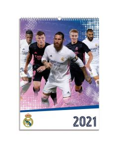Real Madrid 2021 Official Calendar