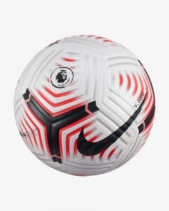 Nike Premier League Flight EPL Match Ball- White/Red/black