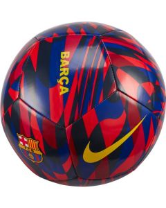 Nike Barcelona Pitch Soccer Ball- Red/Blue/Yellow