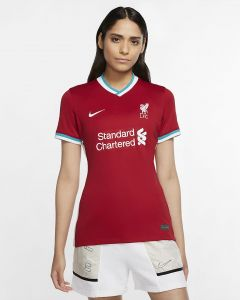 Nike Liverpool 2020/21 Women's Home Jersey