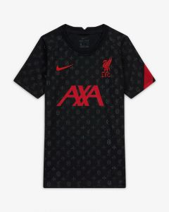Nike Liverpool Prematch Jersey Youth 2020/21-Black
