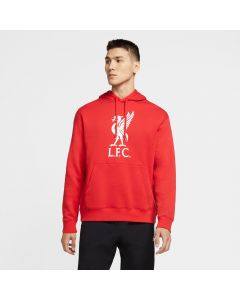 Nike Liverpool FC Men's Pullover Hoodie -Red