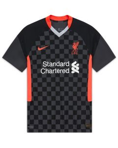 Nike Liverpool Authentic Men's Third Jersey-2020 Black