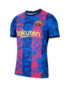Nike Barcelona Auth 3rd Jersey 2021 - Blue