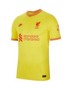 Nike Liverpool 3rd Jersey 2021 - Yellow