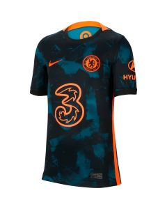 Nike Chelsea Youth 3rd Jersey 2021 - Blue
